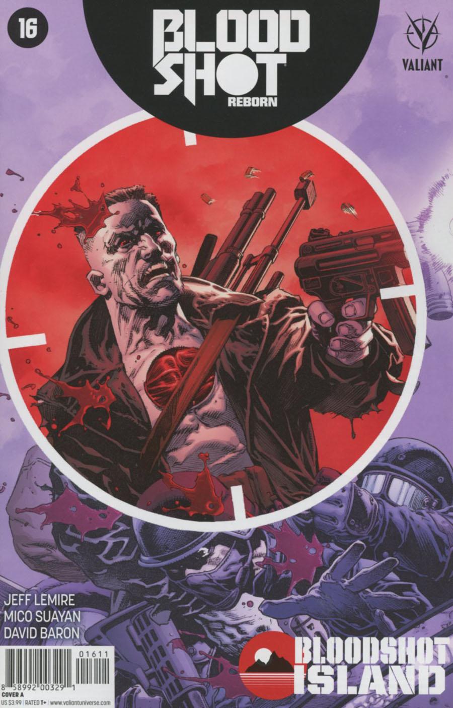 Bloodshot Reborn #16 Cover A Regular Tomas Giorello Cover