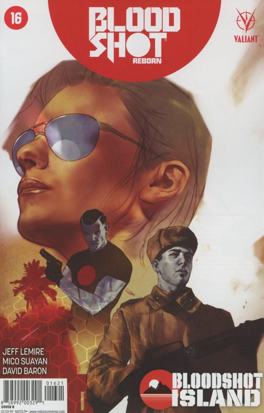 Bloodshot Reborn #16 Cover B Variant Ben Oliver Cover