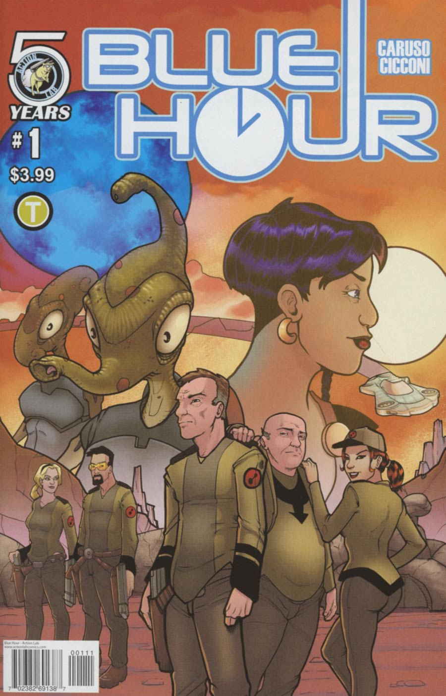 Blue Hour #1 Cover A Regular Chad Cicconi Cover
