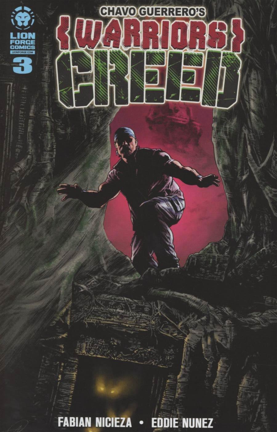 Chavo Guerreros Warriors Creed #3 English Edition