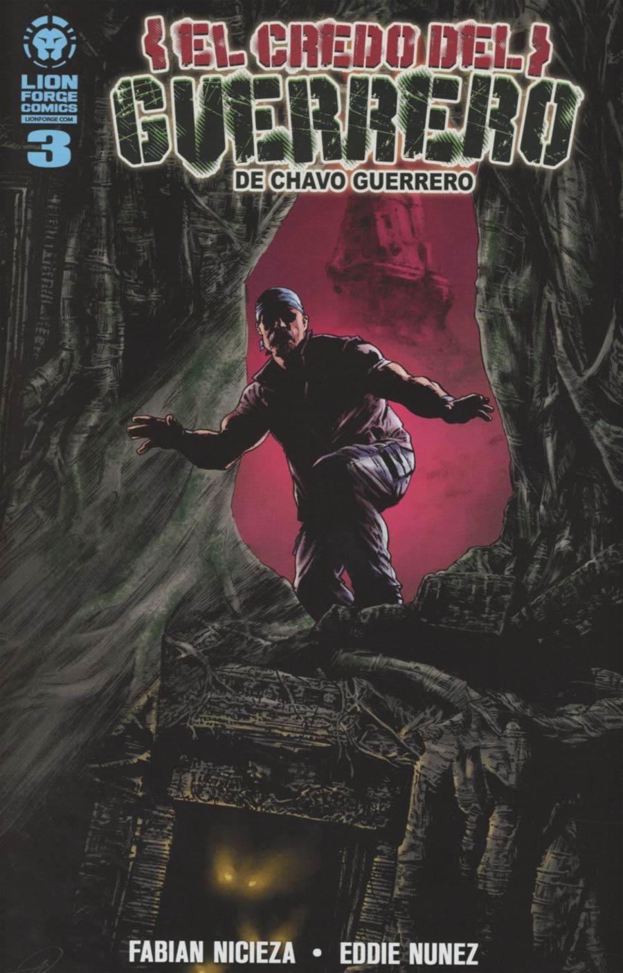 Chavo Guerreros Warriors Creed #3 Spanish Edition