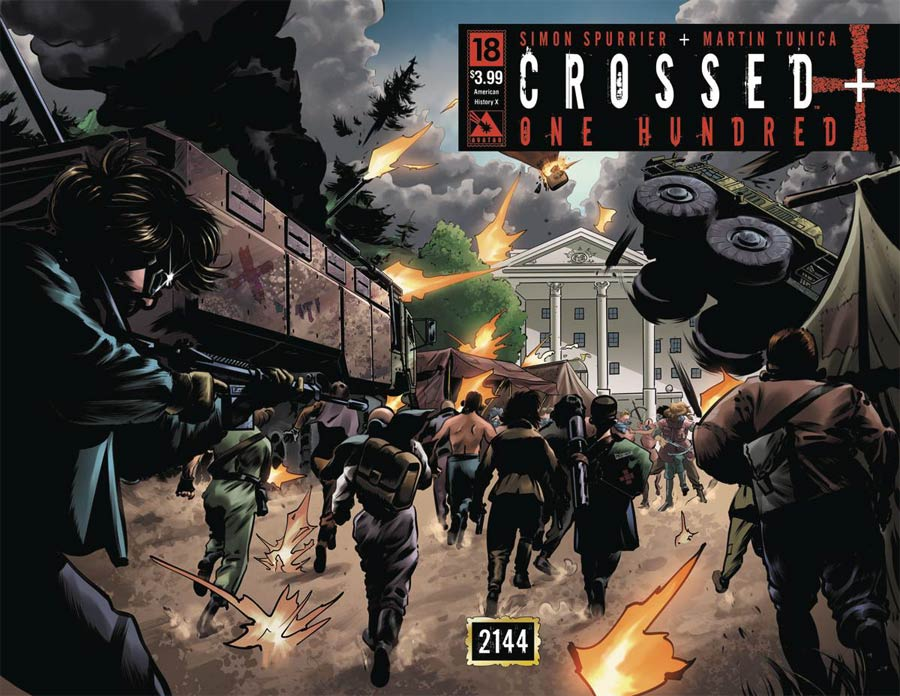 Crossed Plus 100 #18 Cover B American History X Wraparound Cover