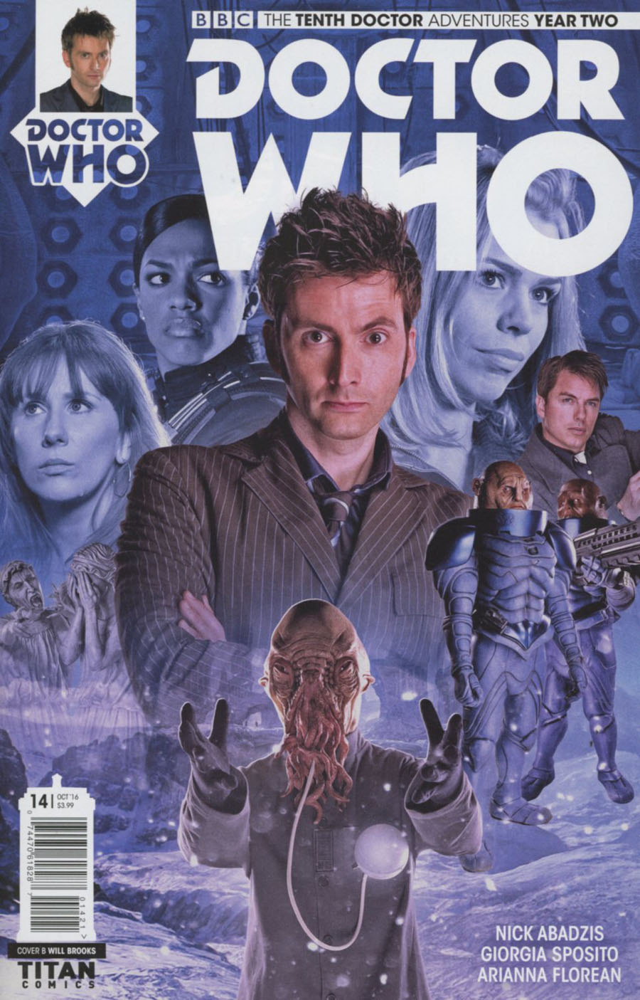 Doctor Who 10th Doctor Year Two #14 Cover B Variant Photo Cover