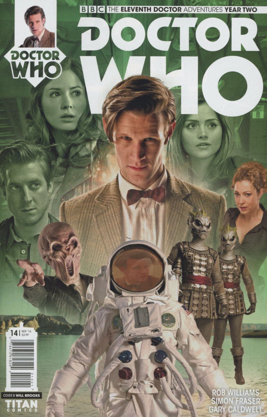 Doctor Who 11th Doctor Year Two #14 Cover B Variant Photo Cover