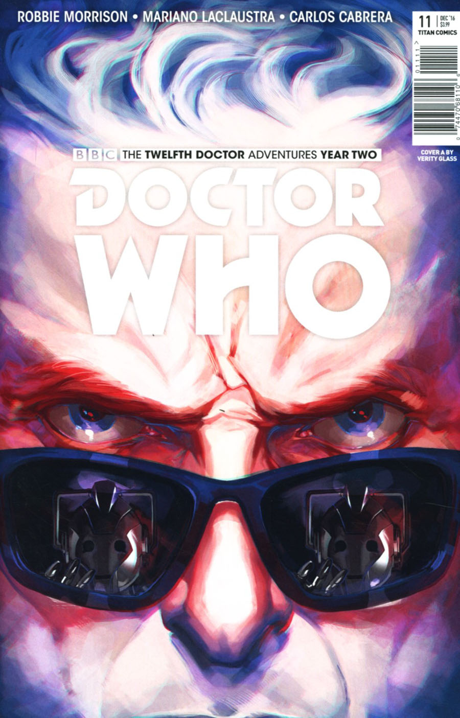 Doctor Who 12th Doctor Year Two #11 Cover A Regular Verity Glass Cover