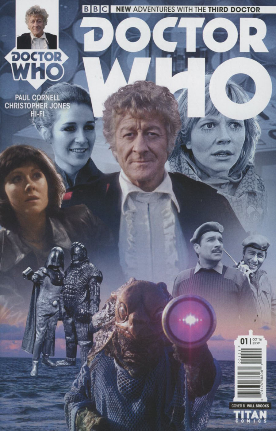 Doctor Who 3rd Doctor #1 Cover B Variant Photo Cover