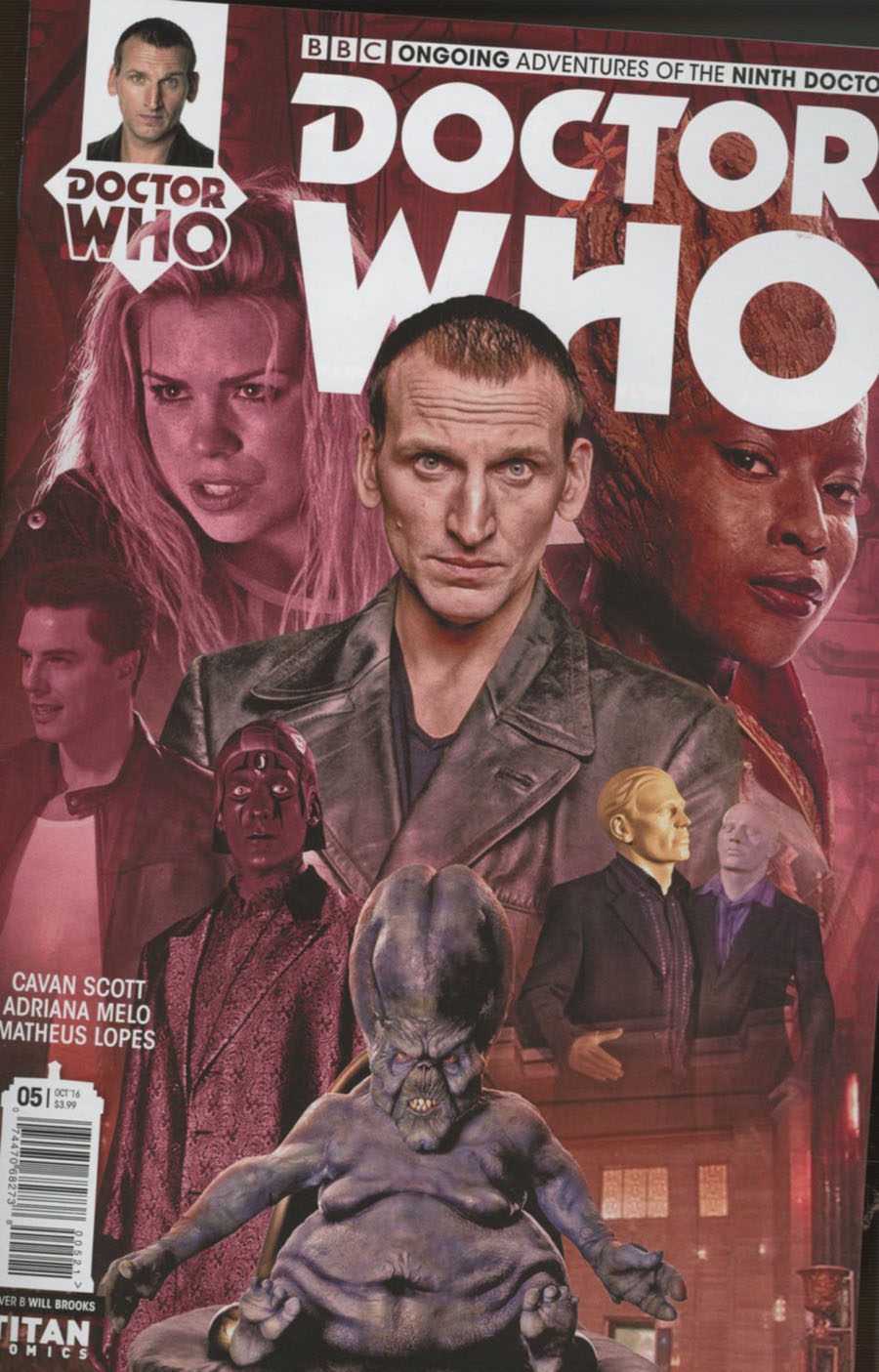 Doctor Who 9th Doctor Vol 2 #5 Cover B Variant Photo Cover