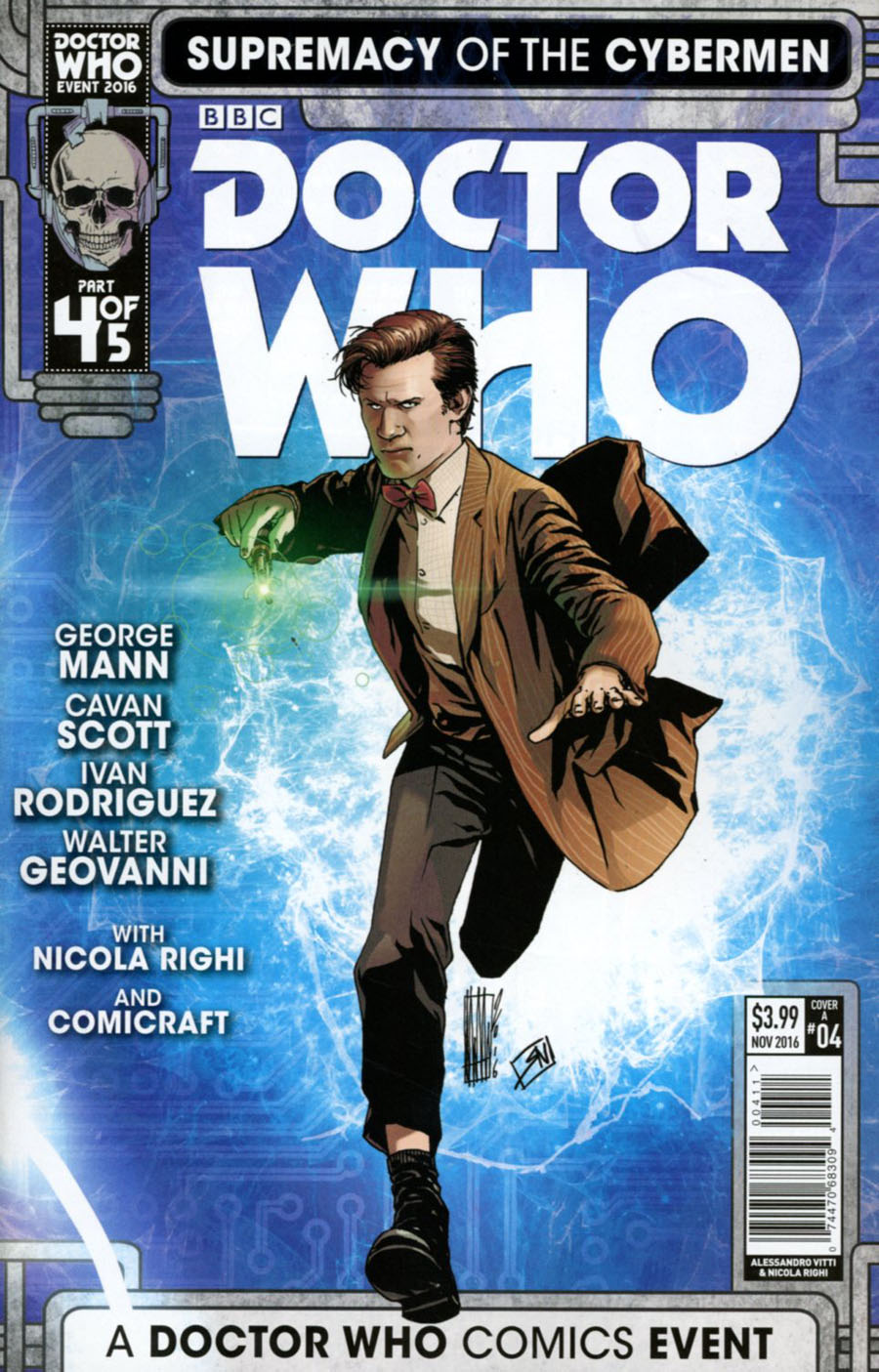 Doctor Who Event 2016 Supremacy Of The Cybermen #4 Cover A Regular Alessandro Vitti Cover