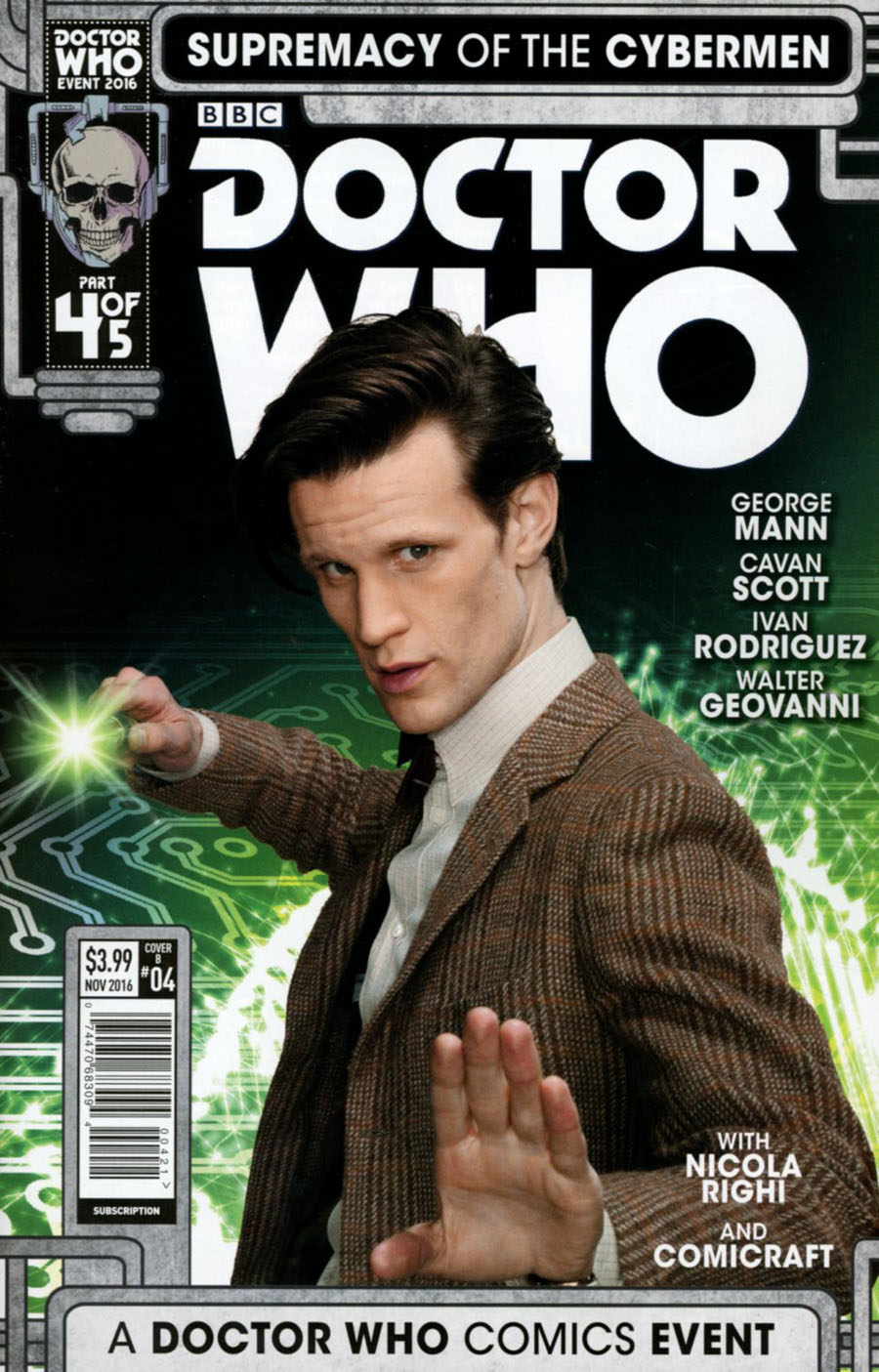 Doctor Who Event 2016 Supremacy Of The Cybermen #4 Cover B Variant Photo Cover