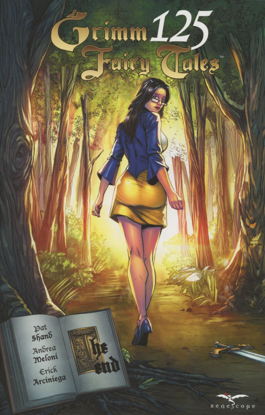 Grimm Fairy Tales #125 Cover A Anthony Spay