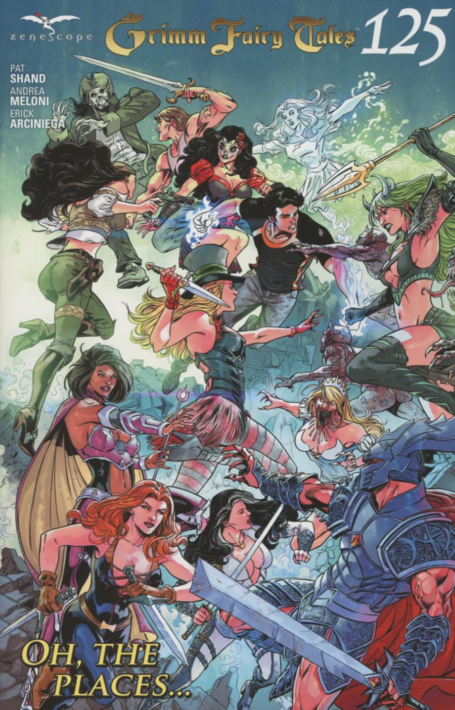 Grimm Fairy Tales #125 Cover C Abhishek Malsuni Connecting