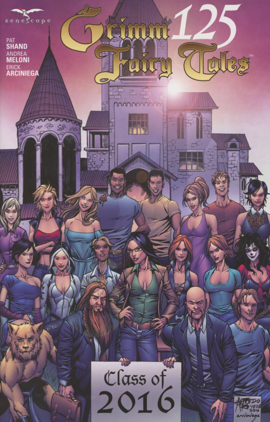 Grimm Fairy Tales #125 Cover E Alfredo Reyes