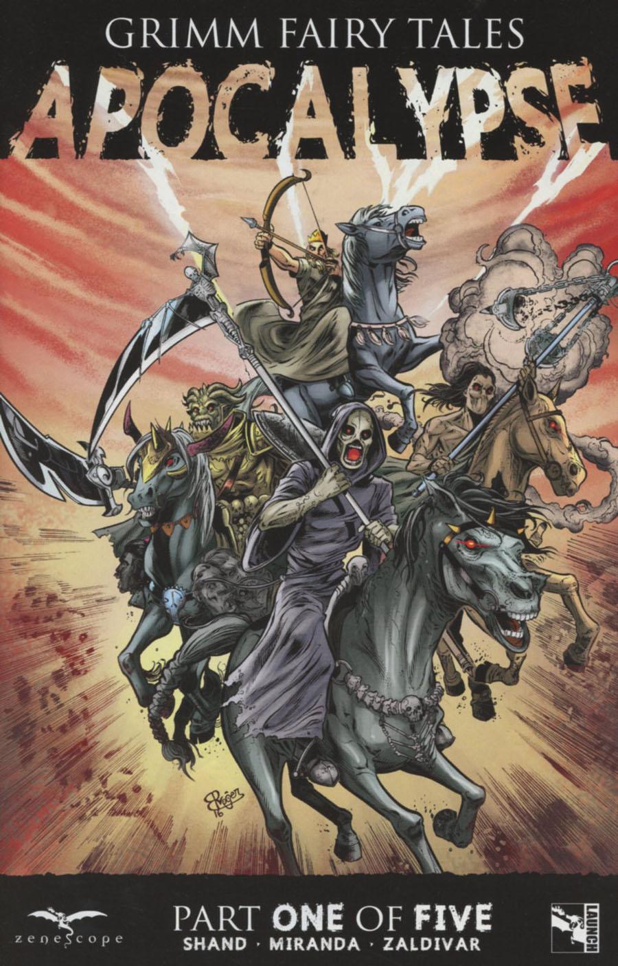 Grimm Fairy Tales Presents Apocalypse #1 Cover B Roger Bonet Martinez