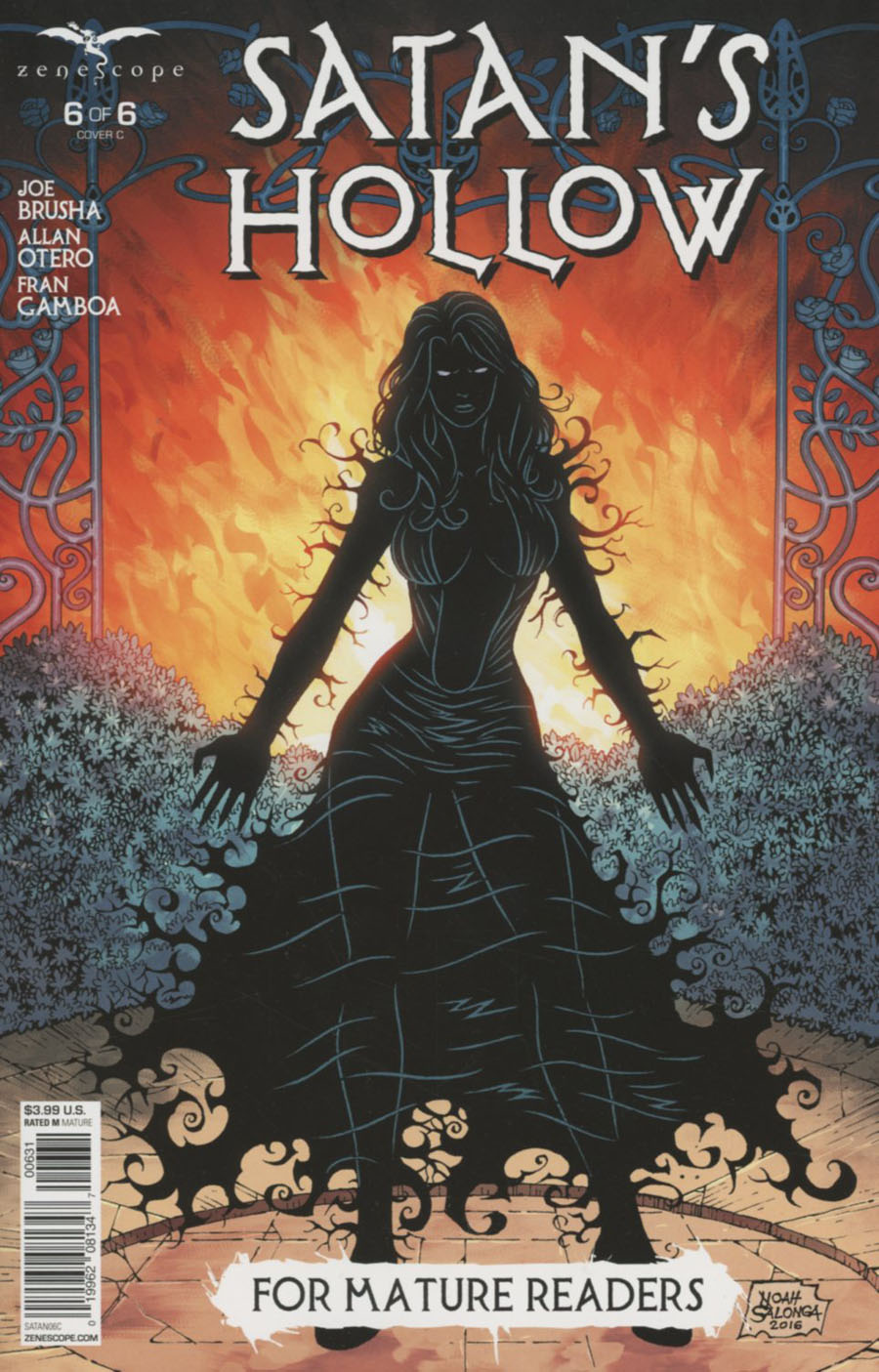 Grimm Fairy Tales Presents Satans Hollow #6 Cover C Noah Salonga