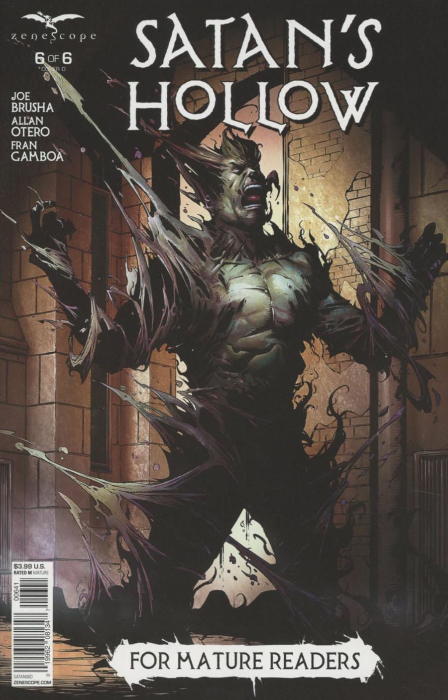 Grimm Fairy Tales Presents Satans Hollow #6 Cover D Johnny Desjardins