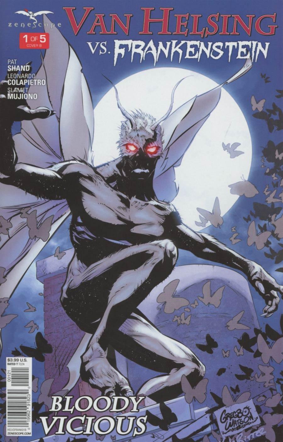 Grimm Fairy Tales Presents Van Helsing vs Frankenstein #1 Cover B Gregbo Watson