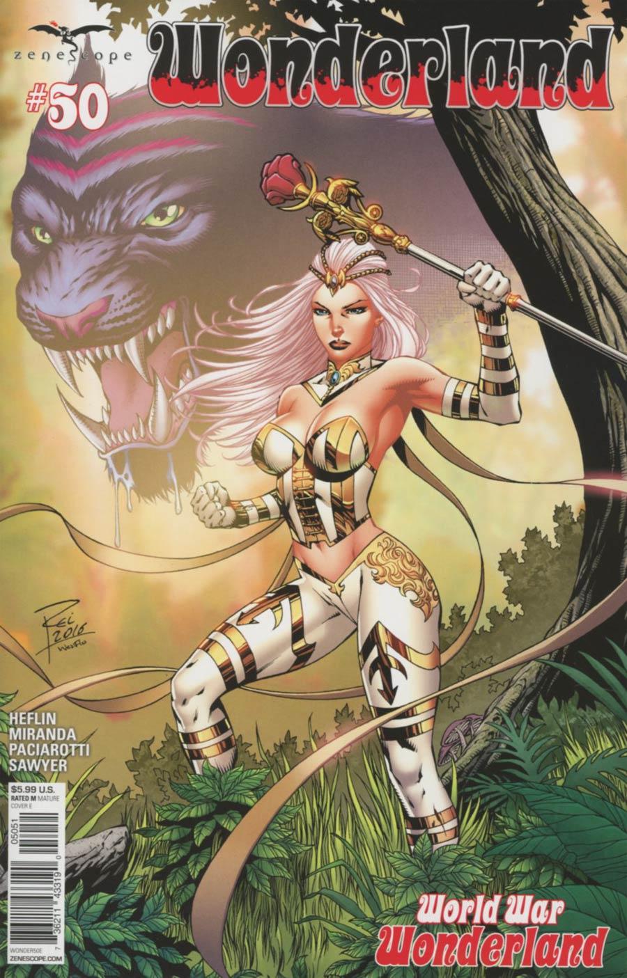 Grimm Fairy Tales Presents Wonderland Vol 2 #50 Cover E Renato Rei