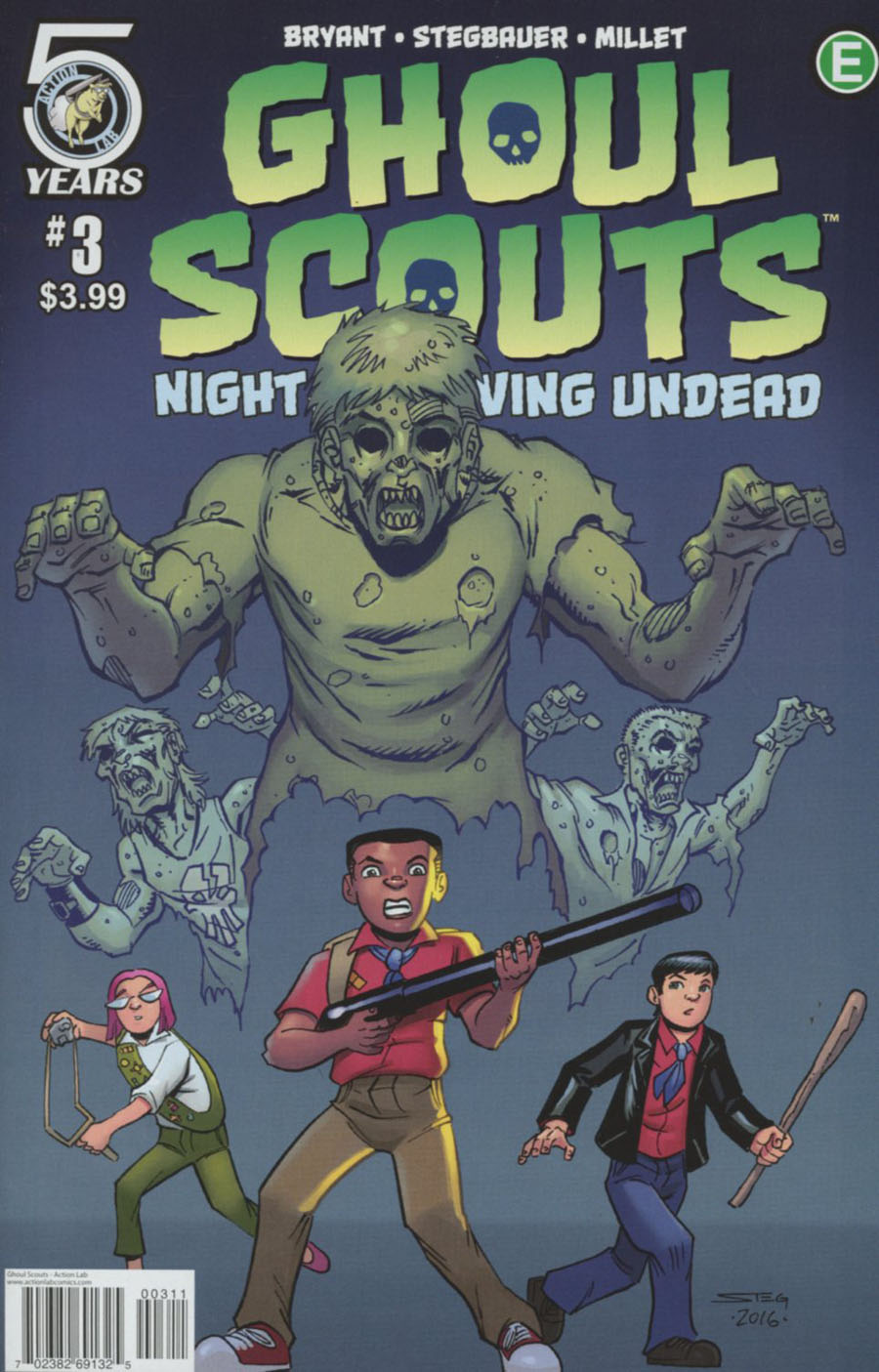 Ghoul Scouts Night Of The Unliving Undead #3 Cover A Regular Mark Stegbauer Cover