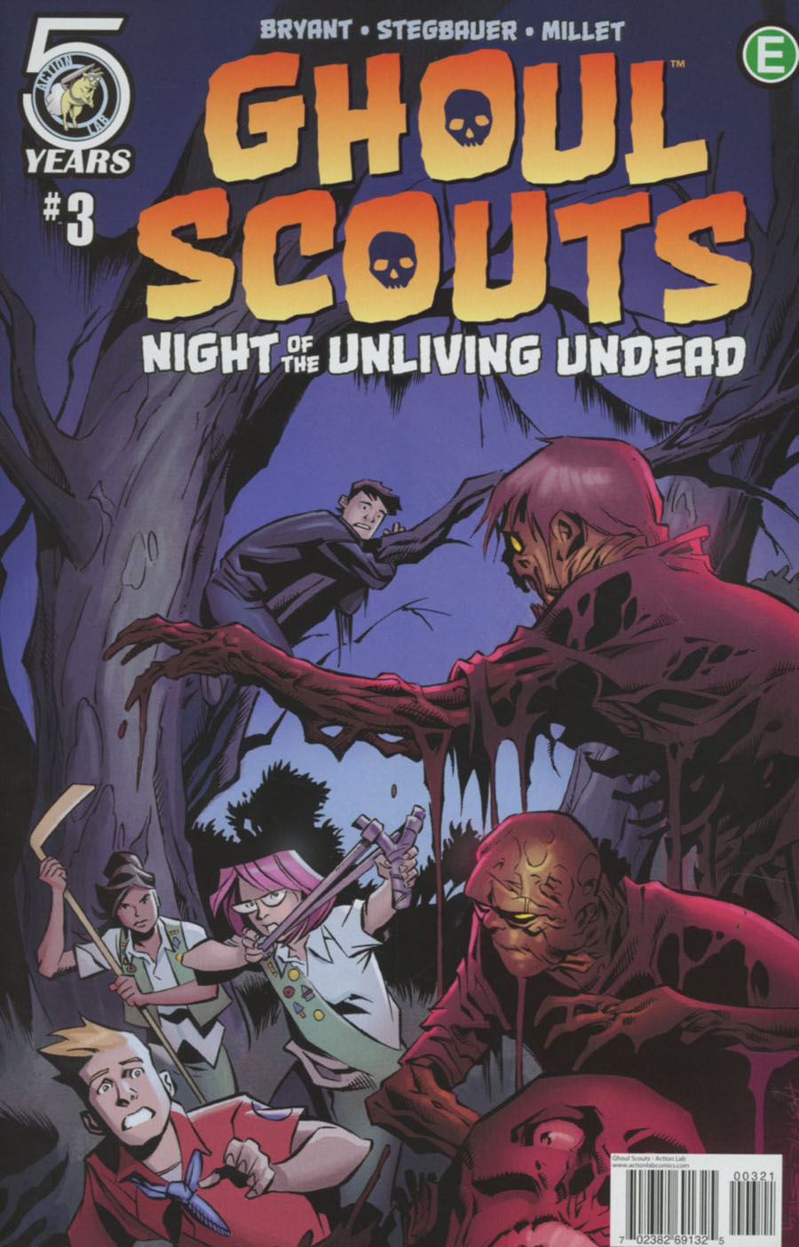 Ghoul Scouts Night Of The Unliving Undead #3 Cover B Variant Phil Hester Cover