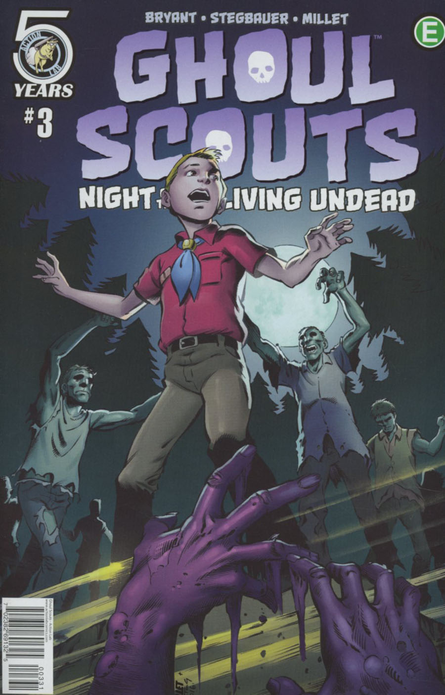 Ghoul Scouts Night Of The Unliving Undead #3 Cover C Variant Jason Millet Cover