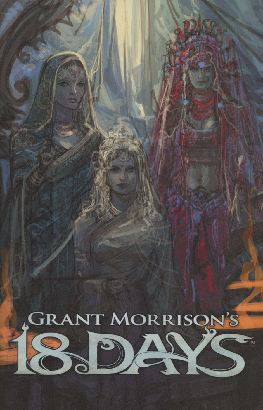 Grant Morrisons 18 Days #14 Cover C Variant Jeevan Kang Goddesses Limited Cover