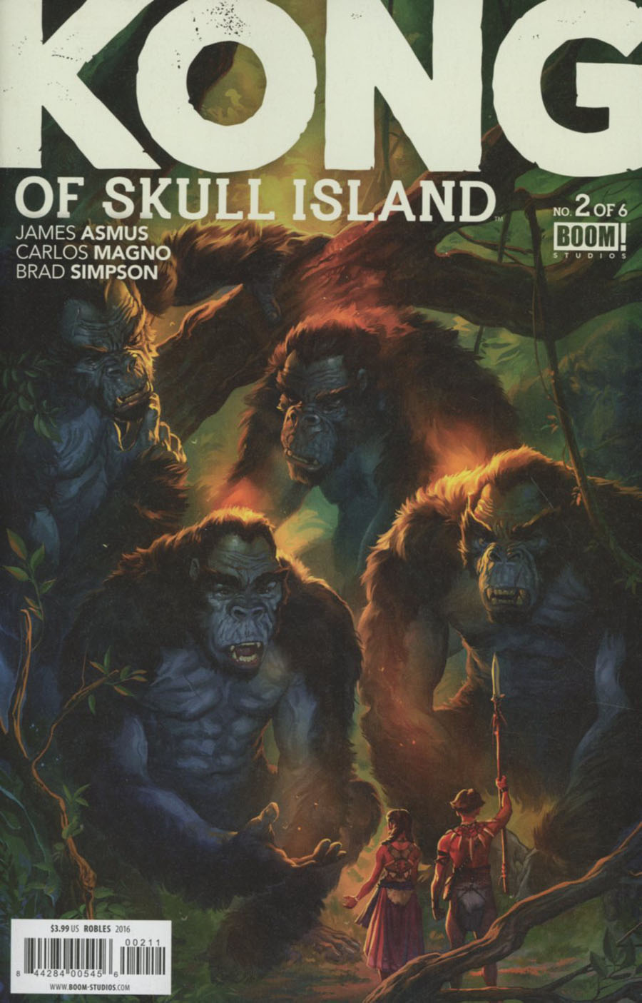 Kong Of Skull Island #2 Cover A Regular Nick Robles Cover