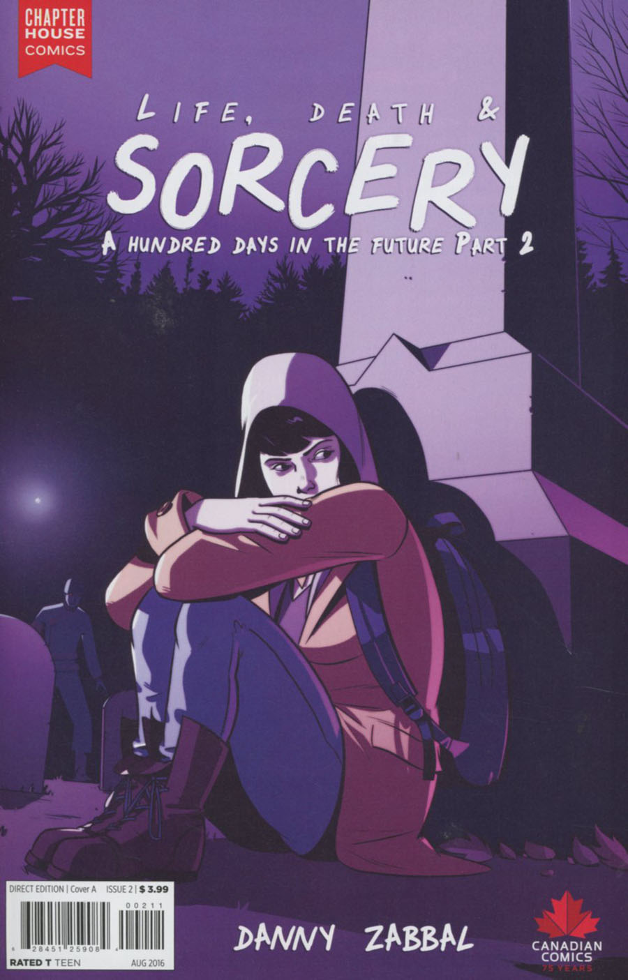 Life Death And Sorcery #2 Cover A Regular Danny Zabbal Cover