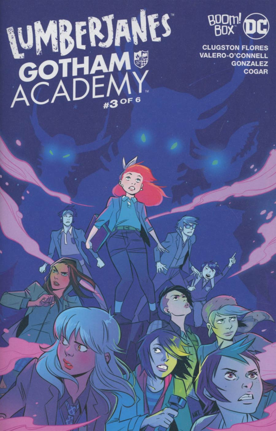 Lumberjanes Gotham Academy #3 Cover A Regular Natacha Bustos Cover