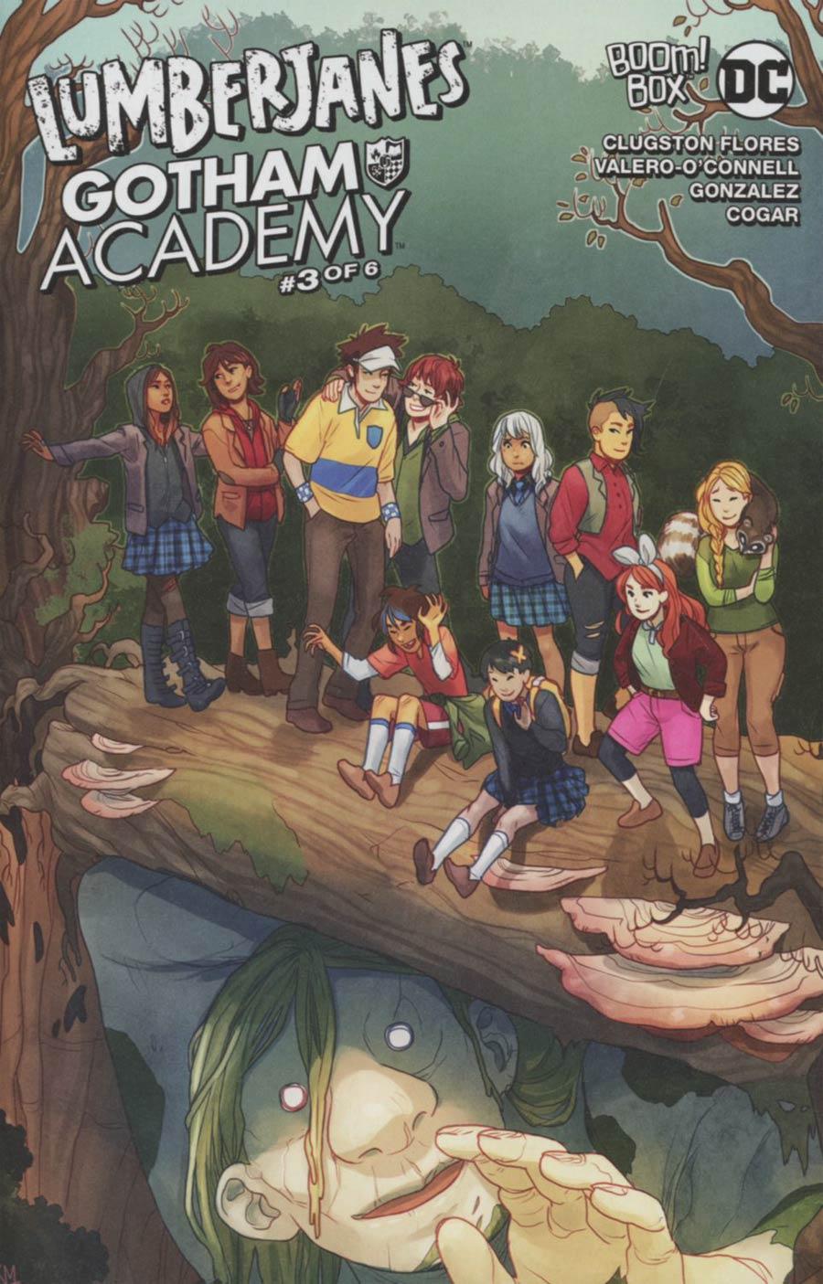 Lumberjanes Gotham Academy #3 Cover B Variant Kelly Matthews & Nichole Matthews Connecting Subscription Cover