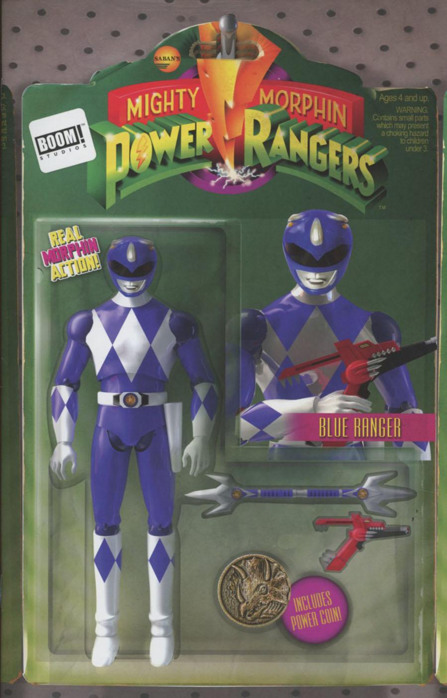 Mighty Morphin Power Rangers (BOOM Studios) #6 Cover B Variant David Ryan Robinson Action Figure Cover