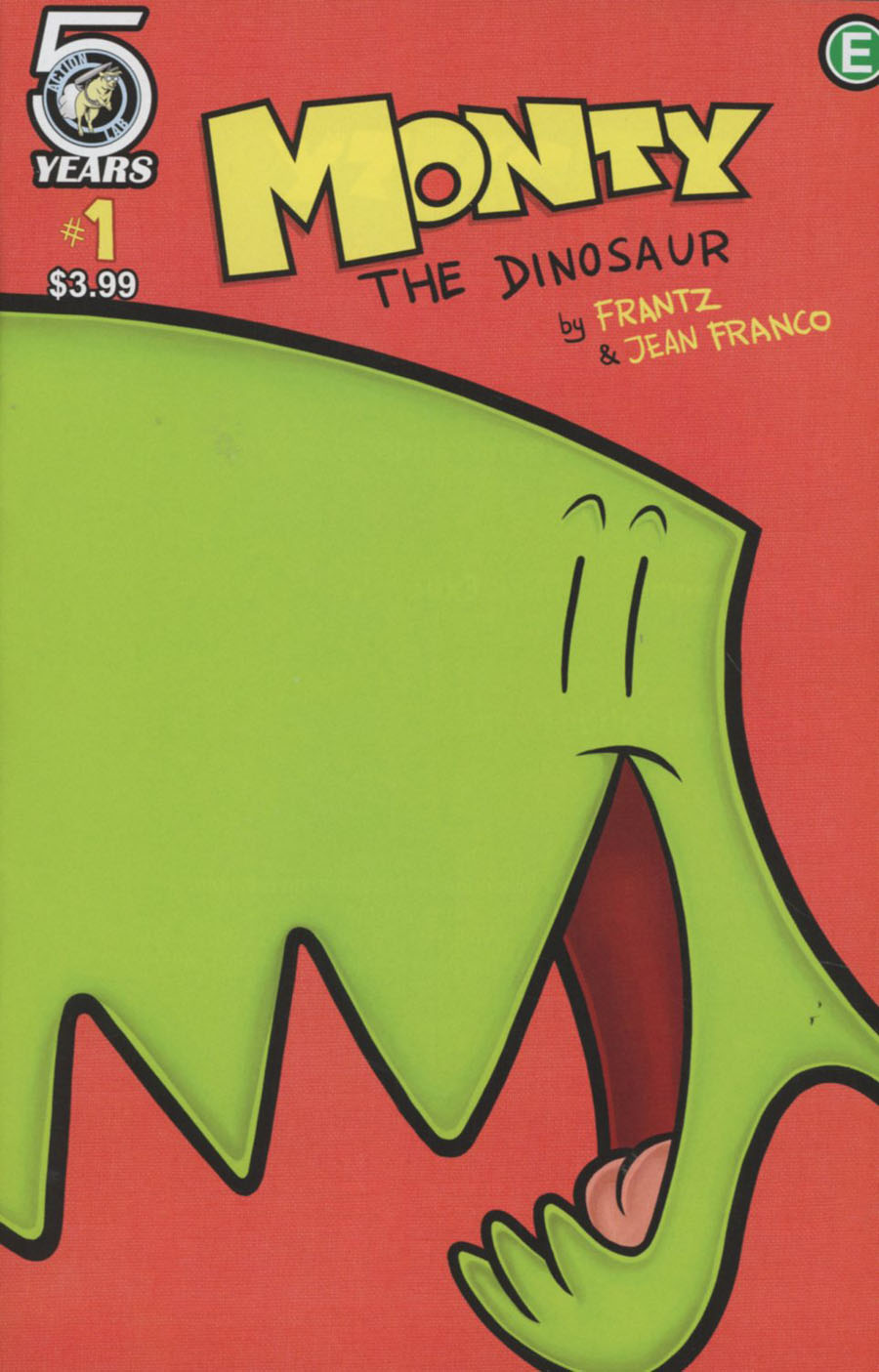 Monty The Dinosaur #1 Cover A Regular Jean Franco Cover