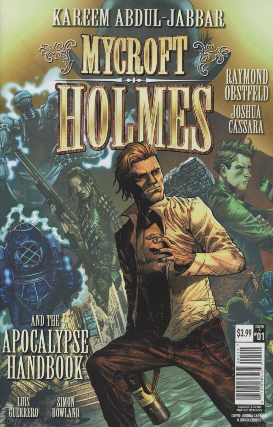 Mycroft Holmes And The Apocalypse Handbook #1 Cover A Regular John Cassara Cover