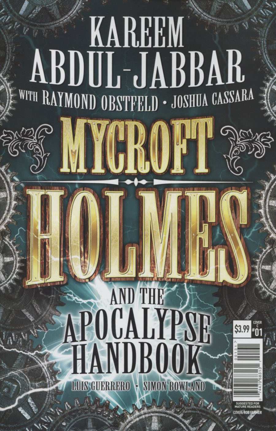 Mycroft Holmes And The Apocalypse Handbook #1 Cover C Variant Typography Cover