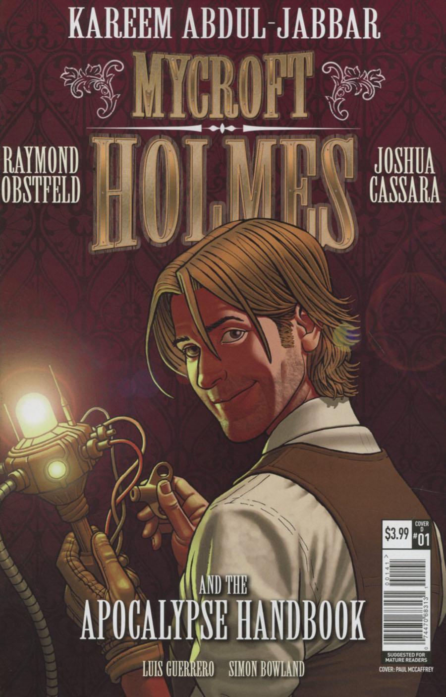 Mycroft Holmes And The Apocalypse Handbook #1 Cover D Variant Paul McCaffrey Cover