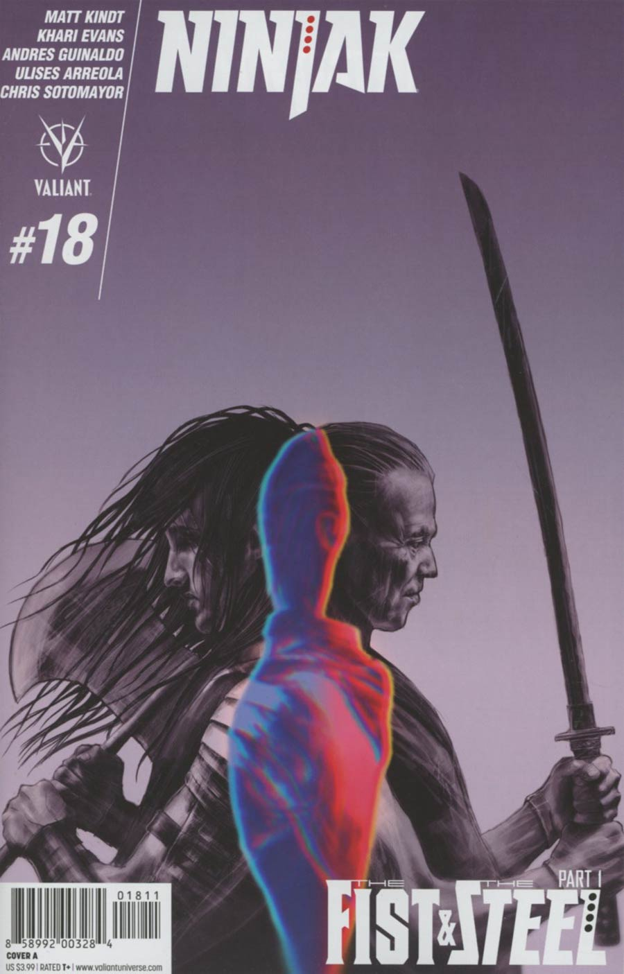 Ninjak Vol 3 #18 Cover A Regular Diego Latorre Cover