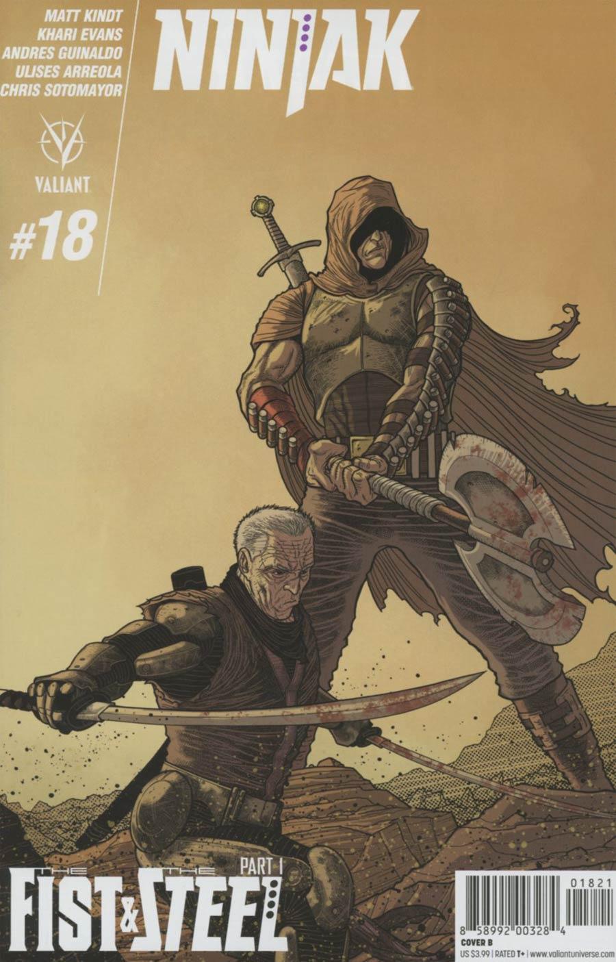 Ninjak Vol 3 #18 Cover B Variant Ryan Bodenheim Cover
