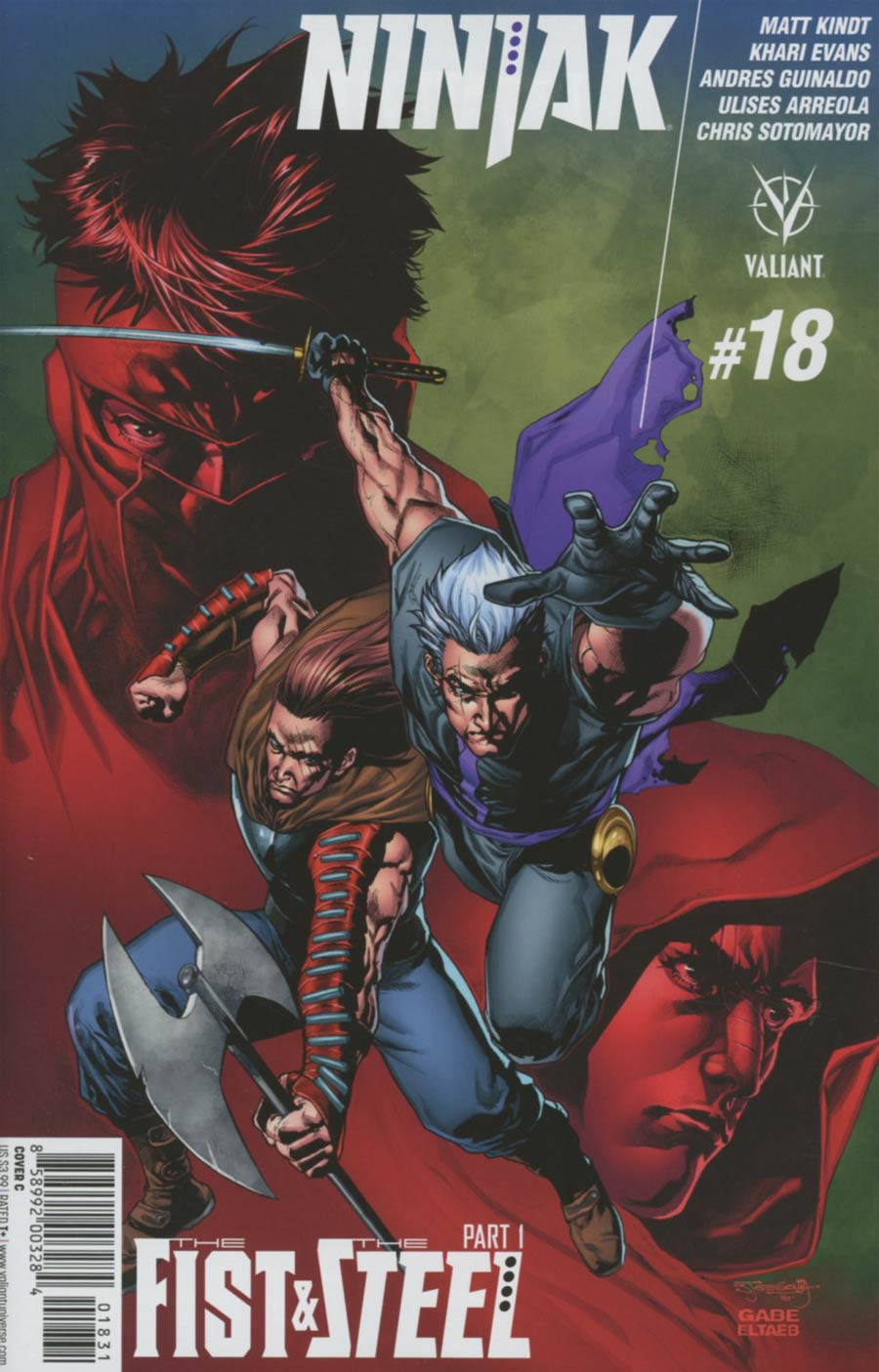 Ninjak Vol 3 #18 Cover C Variant Stephen Segovia Cover