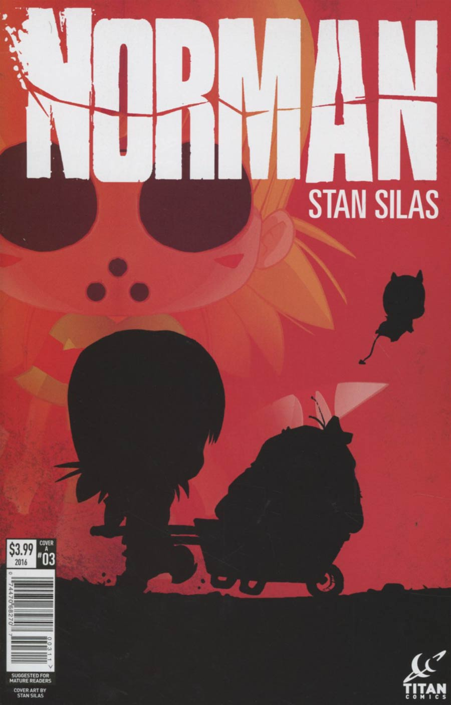 Norman #3 Cover A Regular Stan Silas Cover