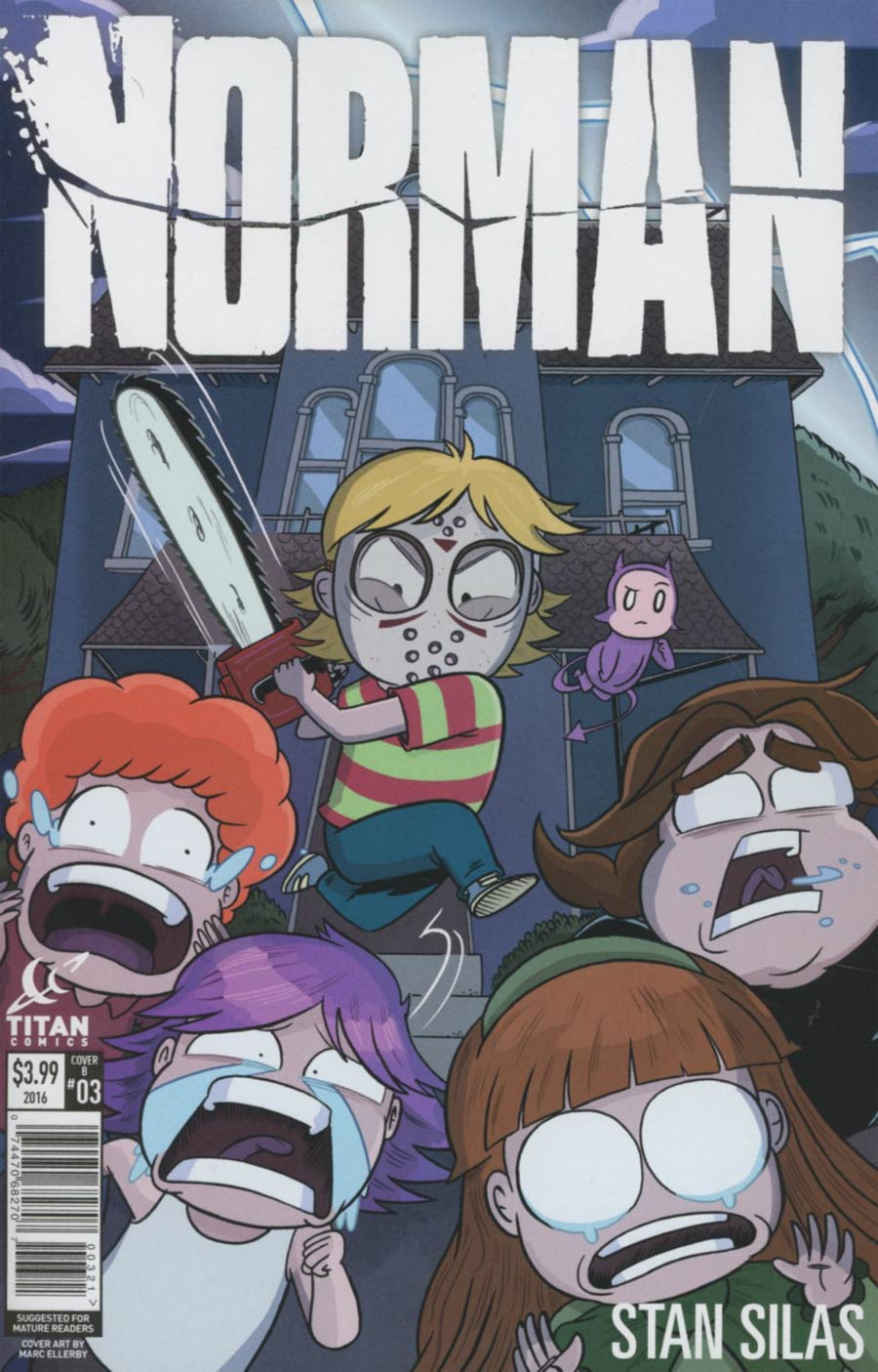 Norman #3 Cover B Variant Marc Ellerby Cover