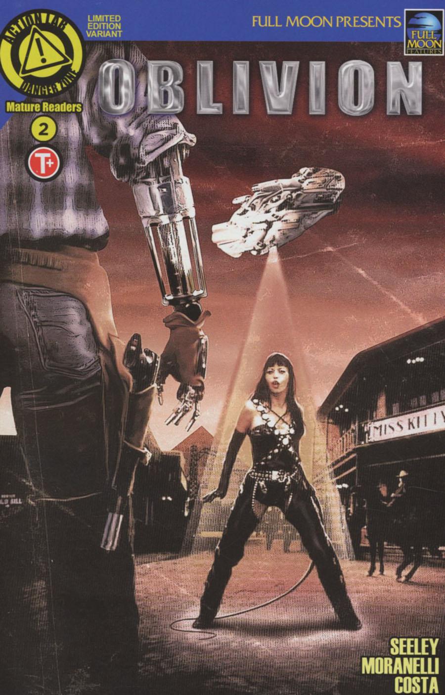 Oblivion #2 Cover E Variant Movie Poster Cover