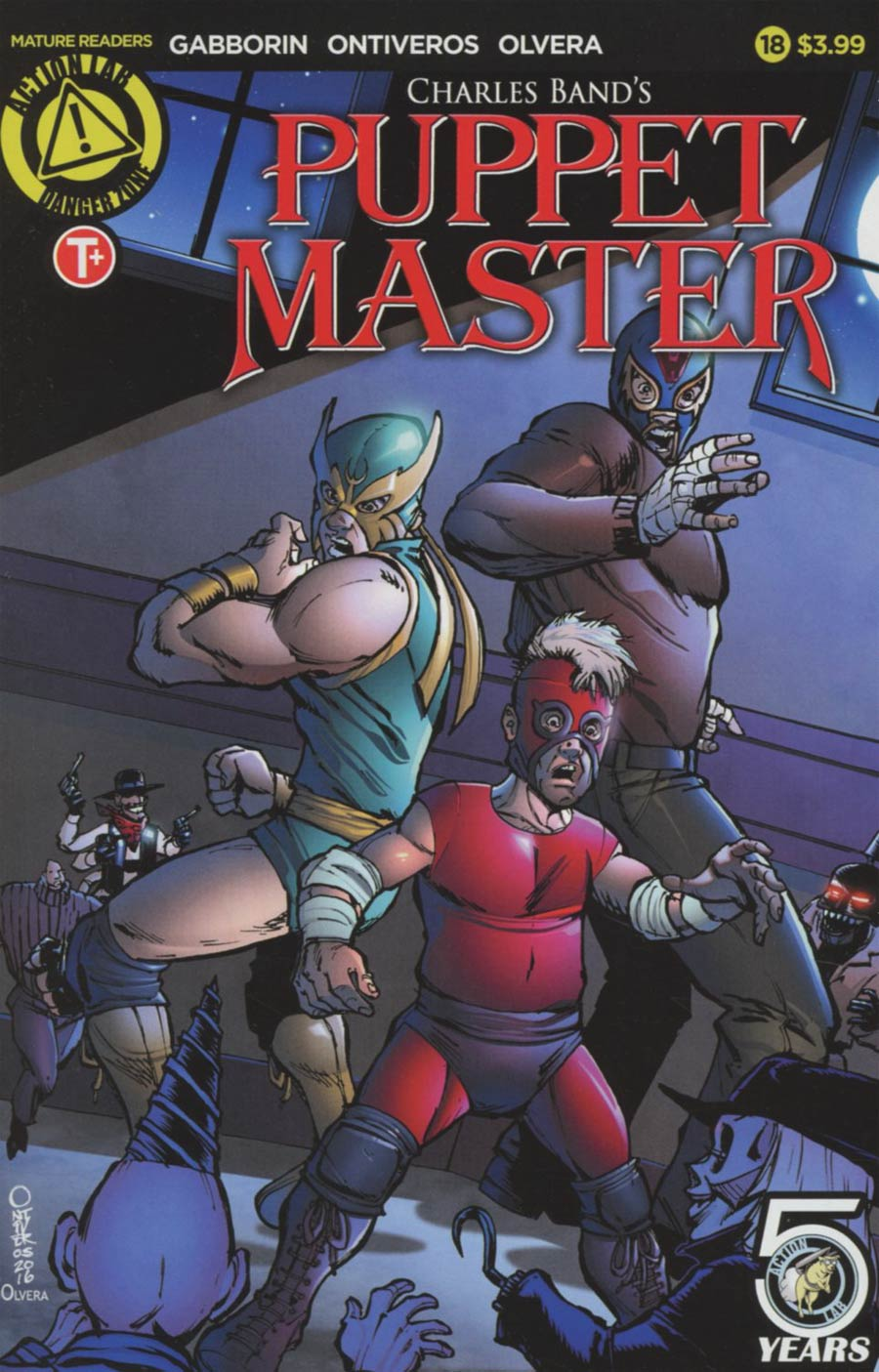 Puppet Master #18 Cover A Regular Antonio Ontiveros Color Cover