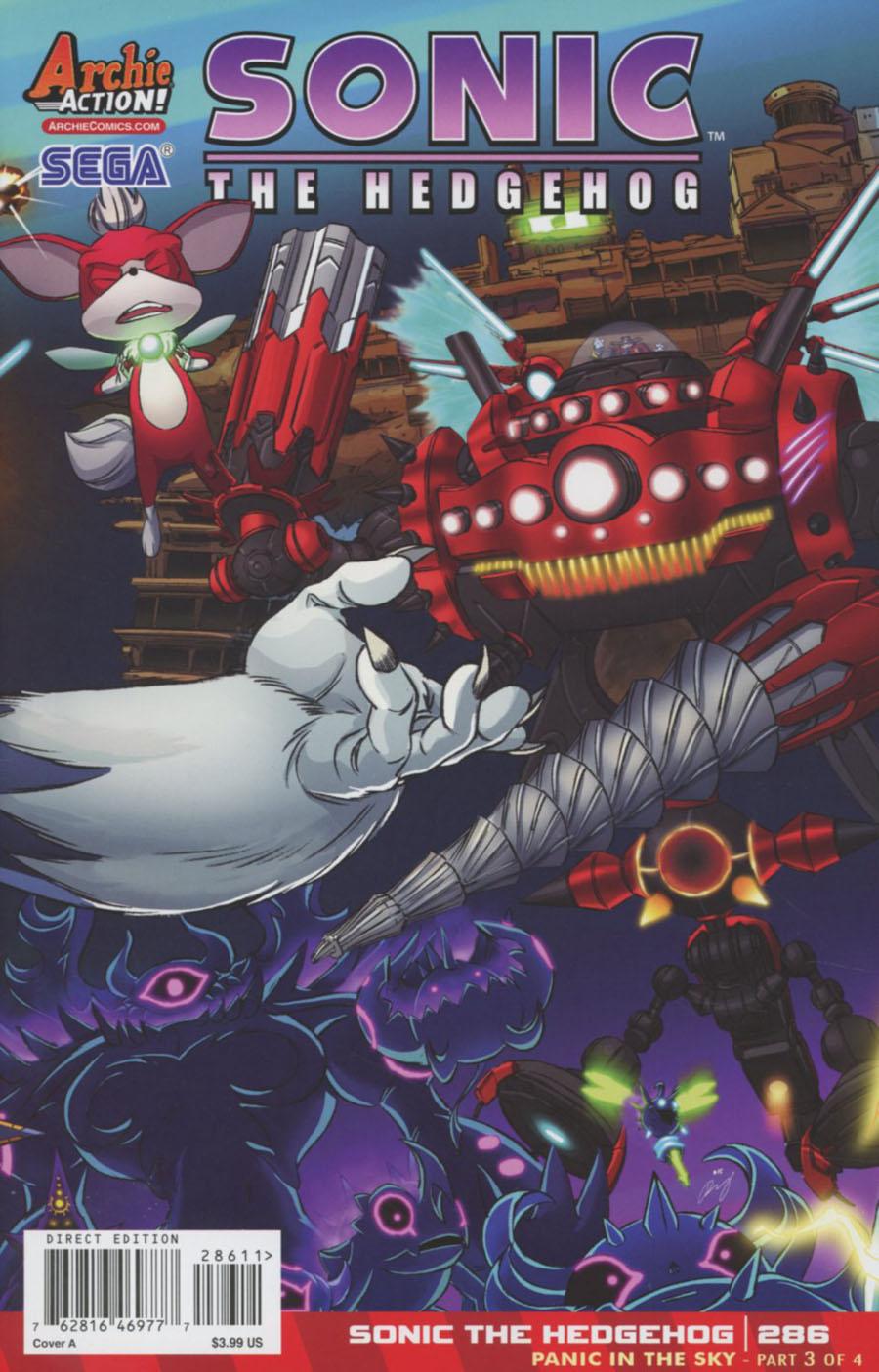 Sonic The Hedgehog Vol 2 #286 Cover A Regular Dan Schoening Cover