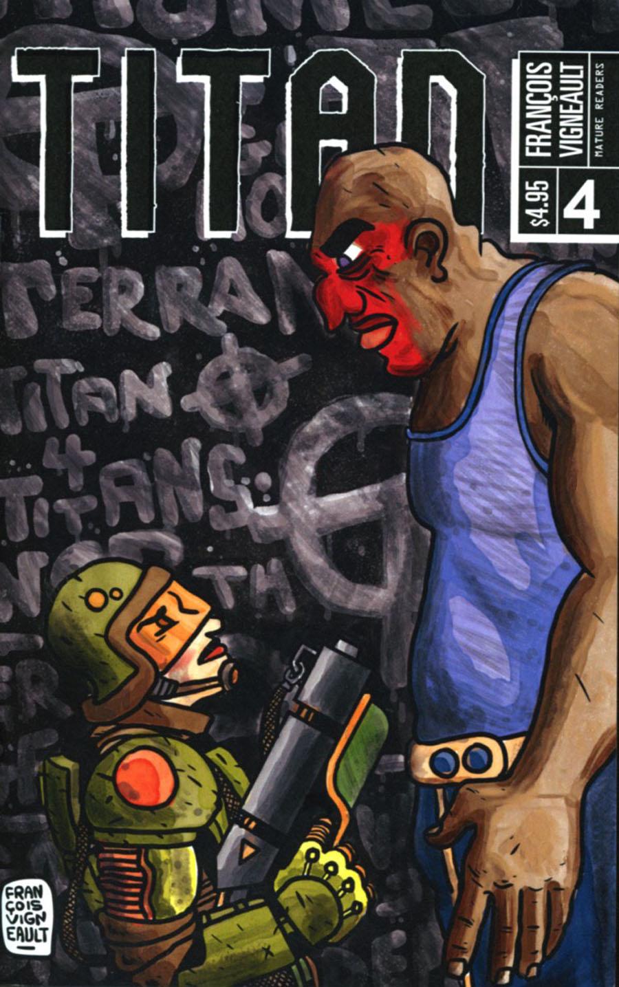 Titan (Alternative Comics) #4