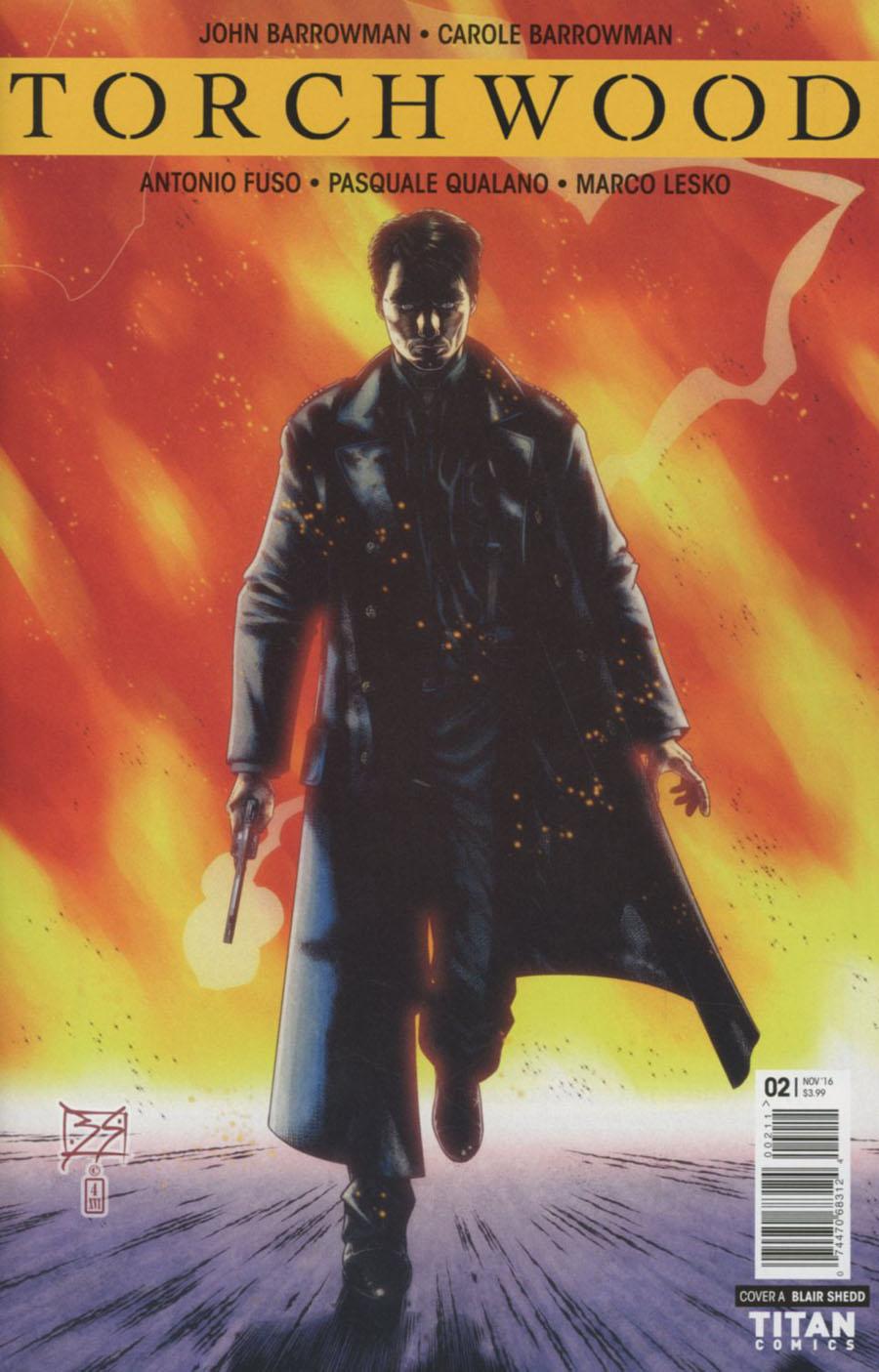 Torchwood Vol 2 #2 Cover A Regular Blair Shedd Cover