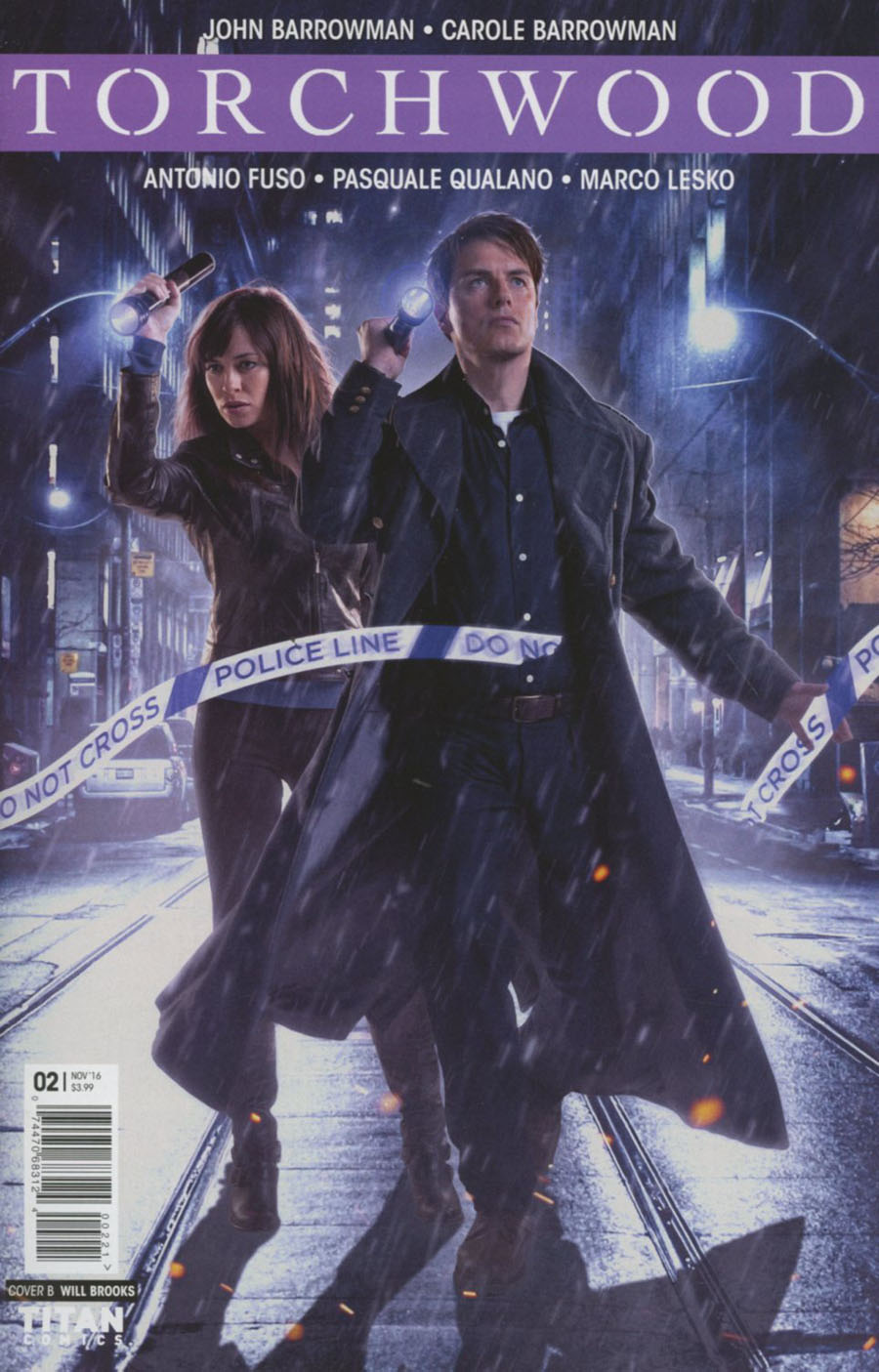 Torchwood Vol 2 #2 Cover B Variant Photo Cover