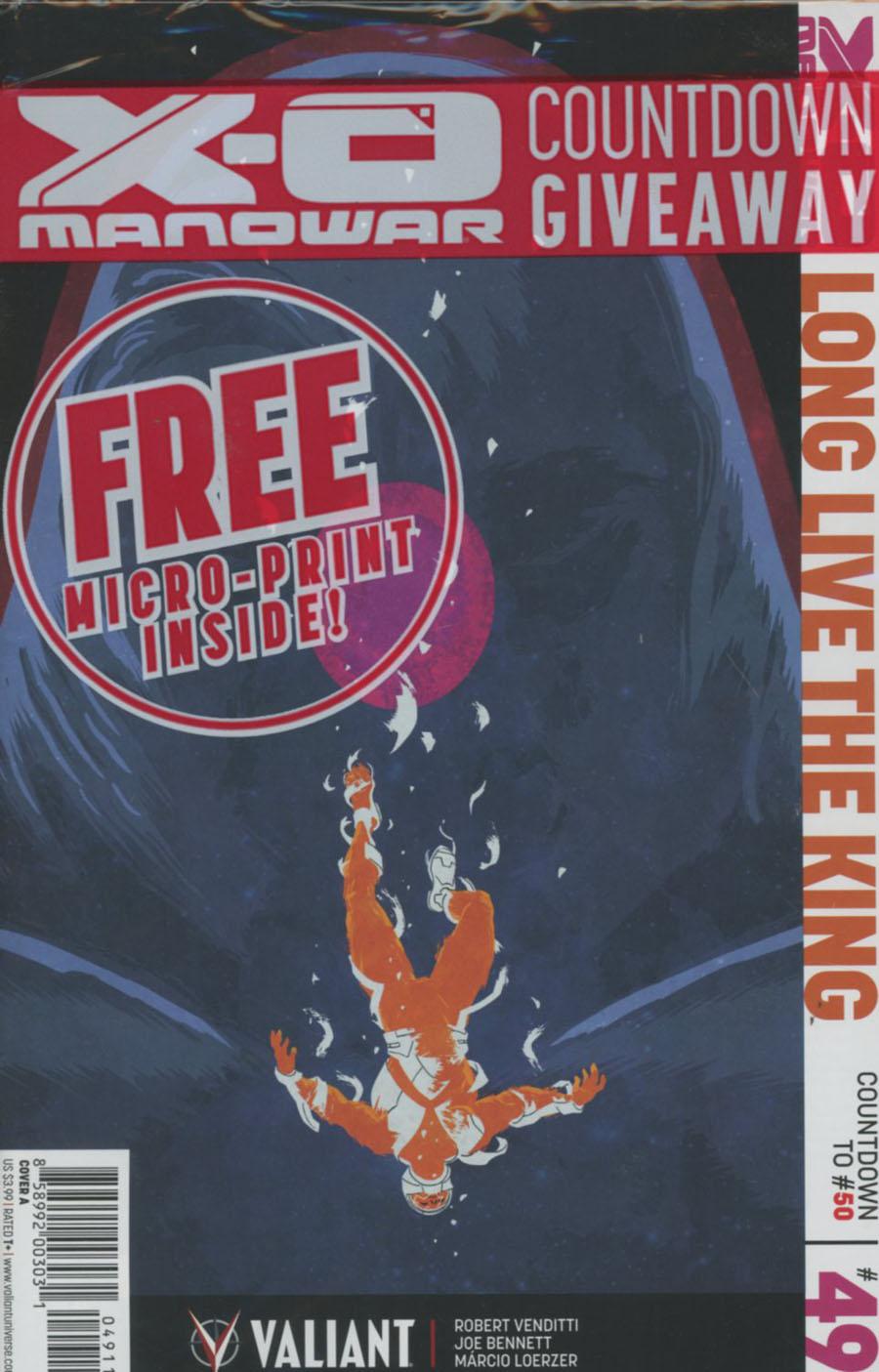 X-O Manowar Vol 3 #49 Cover A Regular Kano Cover