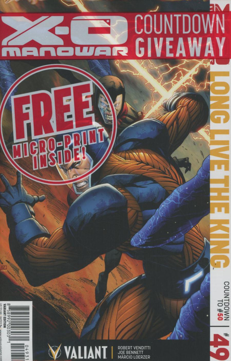 X-O Manowar Vol 3 #49 Cover C Variant Khoi Pham Cover