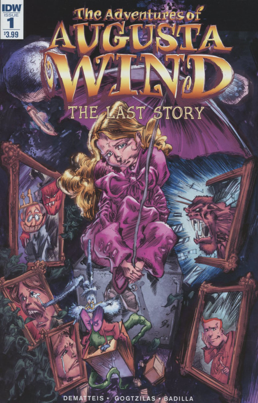 Adventures Of Augusta Wind Vol 2 Last Story #1 Cover A Regular Vassilis Gogtzilas Cover