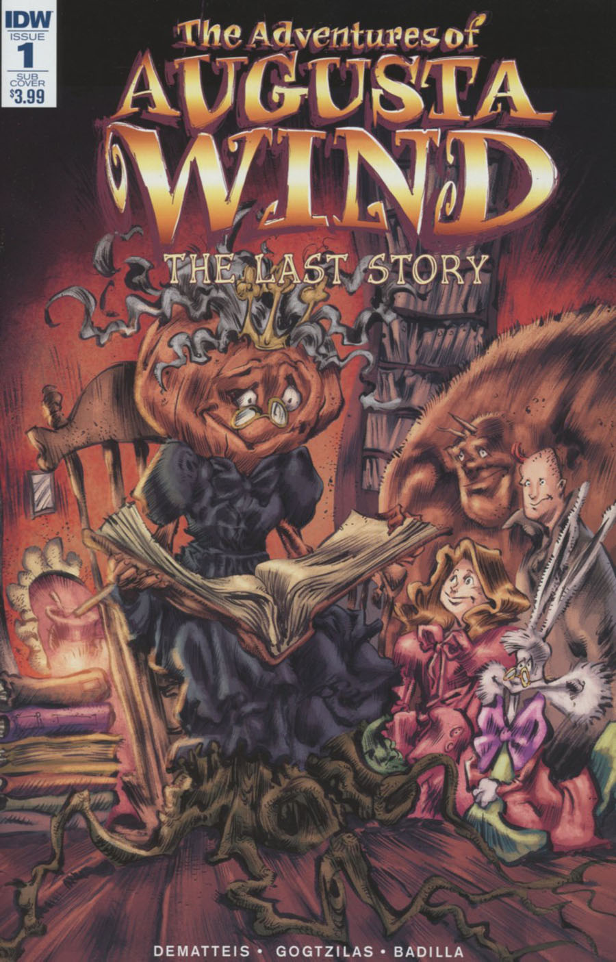 Adventures Of Augusta Wind Vol 2 Last Story #1 Cover B Variant Vassilis Gogtzilas Subscription Cover