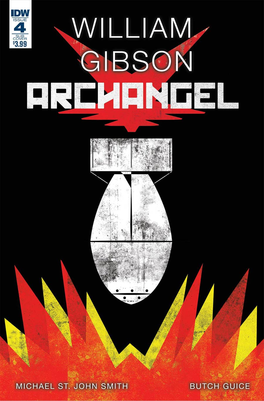 Archangel (IDW) #4 Cover C Variant Jamies Biggie Paperback Subscription Cover